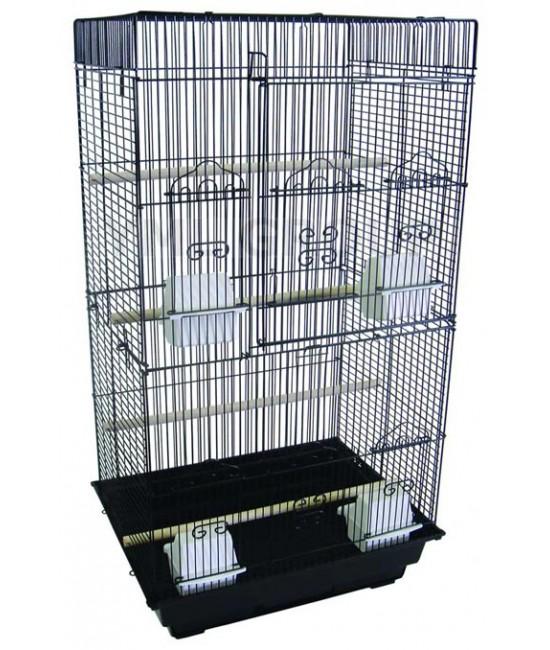 Square Top Bird Cage