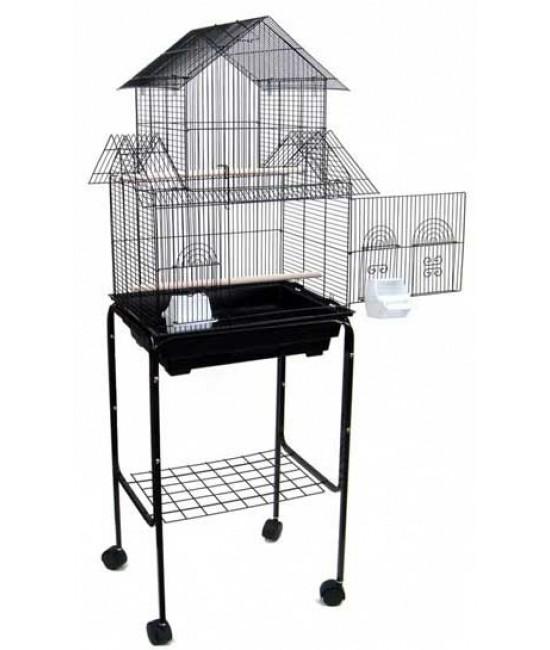 Tall Flat Top Bird Cage