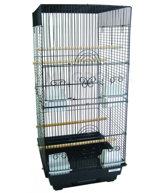 Tall Square Bird Cage