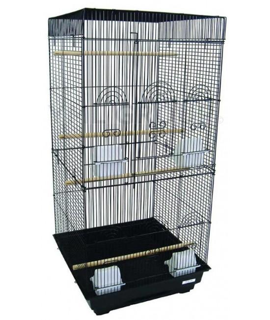 Tall SquareTop Bird Cage