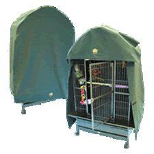 cage cover نور و خواب مورد نیاز طوطی و کاسکو