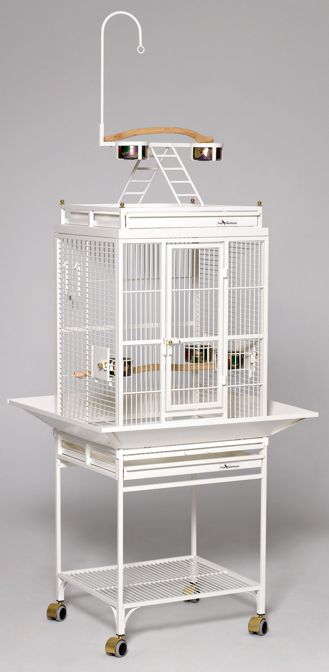 Hq Small Play Top Bird Cage 18x18 By Birdscomfort Com