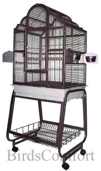 Hq Small Victorian Bird Cage 24x22 By Birdscomfort Com
