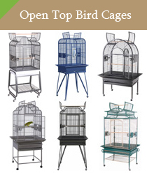 Open Top Bird Cages