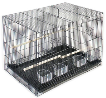 Divided Flight Cage