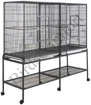 HQ Double Flight Bird Cage