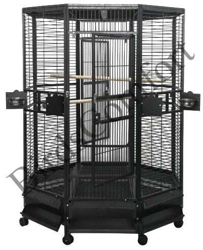 Ae large octagon bird cages