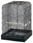 Plated Parrot Cage