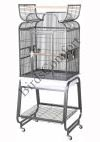 HQ Open Small Bird Cage With Cart Stand