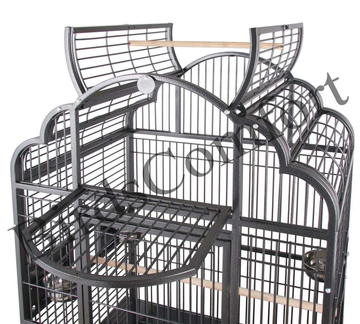 Hq Parrot Bird Cages Gb92422a Victorian Top 24x22 Toy Toys